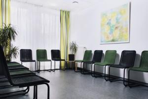 Wartezimmer Praxis Hentschel